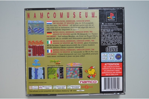 Ps1 Namco Museum Vol. 5 | Playstation 1 Games ...