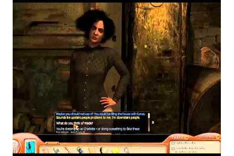 Nancy Drew Ghost of Thornton Hall 7 - Portrait puzzle, fix ...
