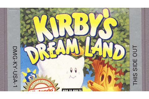 Classic Game Room - KIRBY'S DREAM LAND for Game Boy review ...