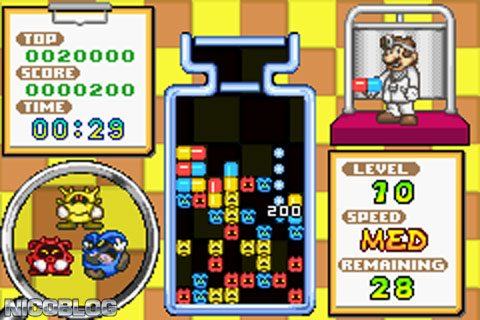 2 in 1: Dr. Mario and Puzzle League (USA) GBA ROM | Cdromance