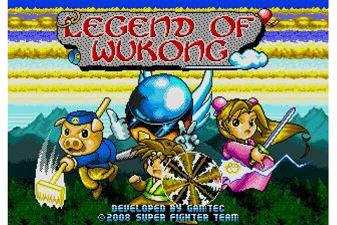 Legend of Wukong (1996) by Gamtec Mega Drive game