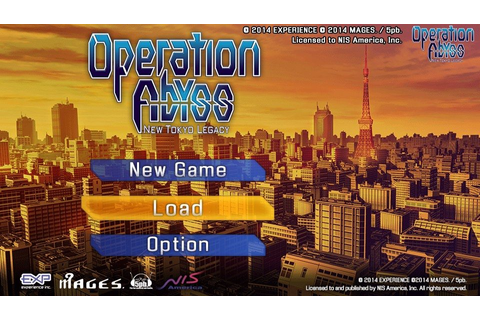 Operation Abyss: New Tokyo Legacy (2014) by Experience PS ...
