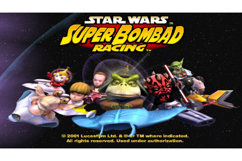 #3 Star Wars : Super Bombad Racing - YouTube