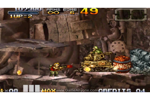Metal Slug 7 Walkthrough - Mission 1 - YouTube