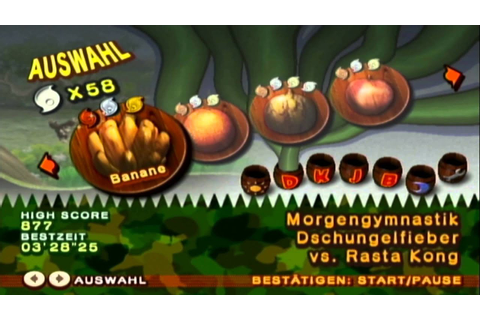 Let's Play Donkey Kong Jungle Beat [German] part 1 Ein ...