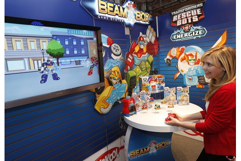 TRANSFORMERS RESCUE BOTS BEAM BOTS GAME System...