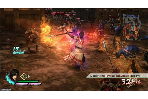 Samurai Warriors 3 WII ISO (ENG) Download (USA) - Ziperto
