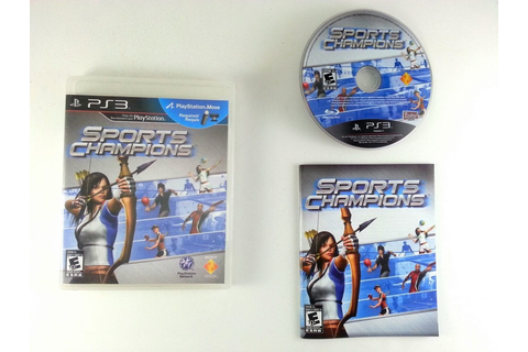 Sports Champions game for Playstation 3 (Complete) | The ...