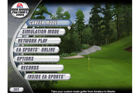 Tiger Woods PGA Tour 2004 Download (2003 Sports Game)