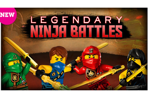 Cartoon Network Games: Lego Ninjago - Legendary Ninja ...