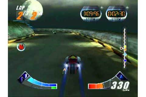 Extreme-G 2 (XG2) in game footage - Amazing action N64 ...