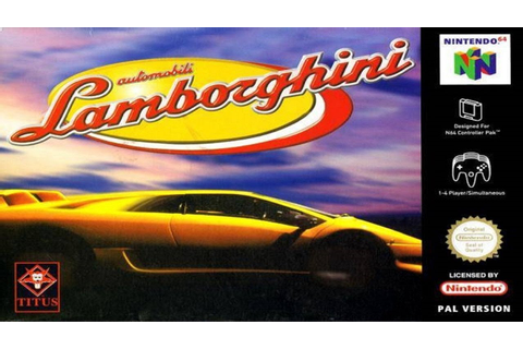 Automobili Lamborghini | Gameplay | Nintendo 64 - YouTube