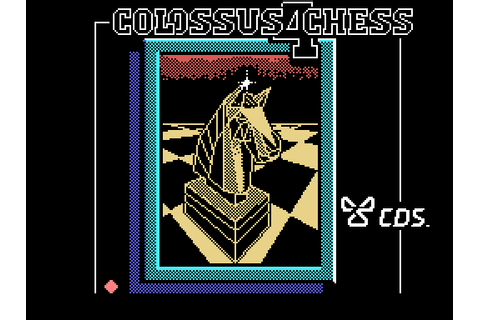 Colossus Chess 4 (1986) by CDS Software MSX game