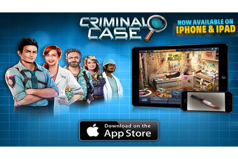 Criminal Case on iPad - Mobile Game Series #2 - YouTube