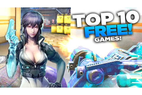 TOP 10 FREE Steam Games (2017) NEW! - YouTube
