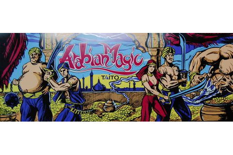 Arabian Magic - Videogame by Taito