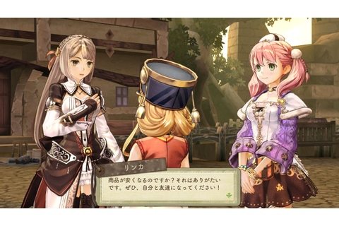 More Atelier Escha & Logy screenshots | RPG Site