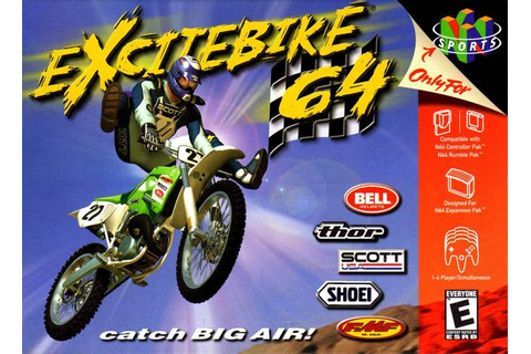 Excitebike 64 Nintendo 64 Game
