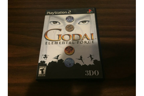 GoDai: Elemental Force - Playstation 2 Game Complete | eBay