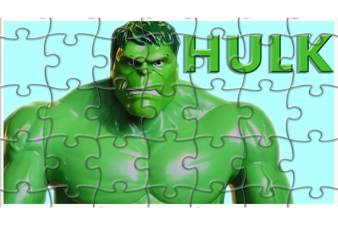 HULK Jigsaw Puzzle Games || Spelling Learning For Children ...
