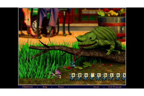 Chameleon Game - Mavis Beacon Teaches Typing 5 - OPL3 ...