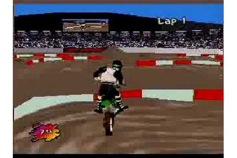 Supercross 3D - Atari Jaguar - YouTube