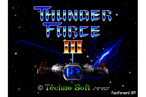 Thunder Force 3 Screenshots | GameFabrique