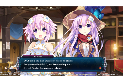 Too Meta? - Cyberdimension Neptunia: 4 Goddesses Online ...