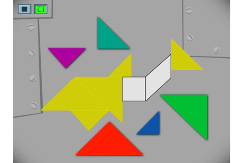 Tangram Challenge - Math Game