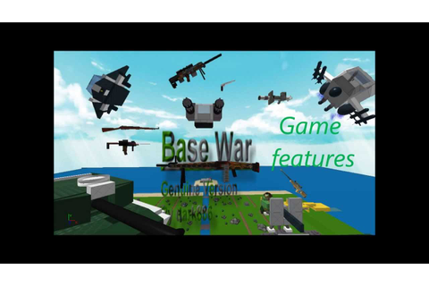 Base Wars: The Land - The game features (Roblox Games ...