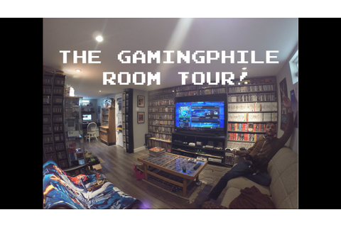 Video Game Room Tour! [HD] - thegamingphile - YouTube