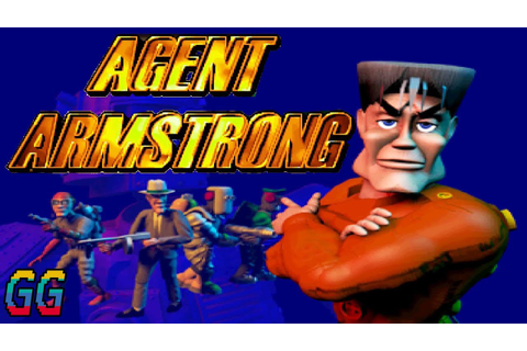 PS1 Agent Armstrong 1997 PLAYTHROUGH - YouTube