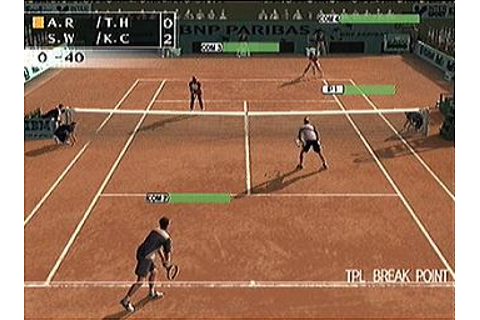 Screens: Smash Court Tennis: Pro Tournament 2 - PS2 (16 of 40)