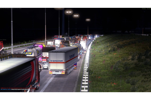 EUROPORT traffic jam in Euro Truck Simulator 2 Multiplayer ...
