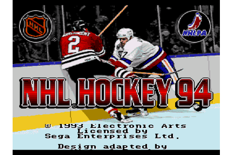 NHL Hockey 94 Screenshots | GameFabrique