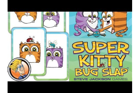 Super Kitty Bug Slap — game preview at Gen Con 50 - YouTube
