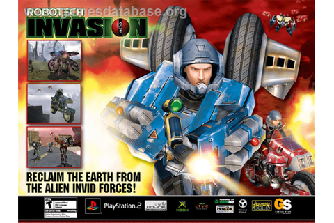 Robotech: Invasion - Microsoft Xbox - Games Database