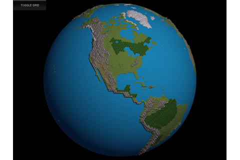 HexGlobe: Hex-based planetary globes for strategy games ...