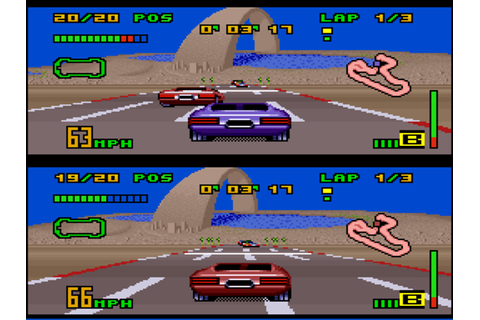 The Classics Games: Análise: Top Gear 3000 (SNES)