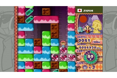 Mr. Driller W Review (WiiWare) | Nintendo Life