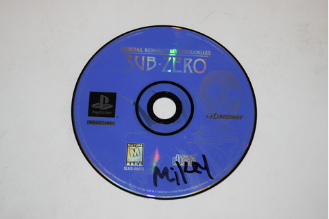 Mortal Kombat Mythologies Sub-Zero Sony Playstation PS1 ...