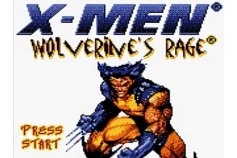 X-Men - Wolverine's Rage (Game Boy Color) - YouTube