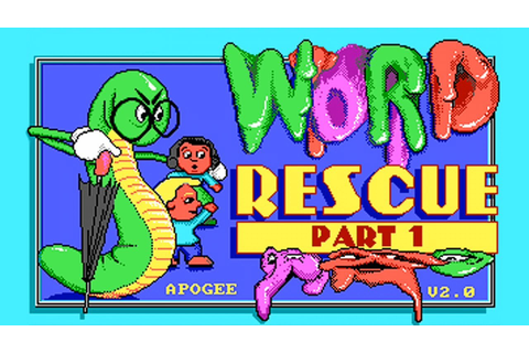 LGR - Word Rescue and Math Rescue - DOS PC Game Review ...
