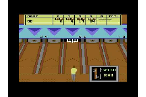 C64 Game - 10th Frame - YouTube