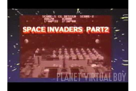 Space Invaders Virtual Collection Promo (Virtual Boy ...
