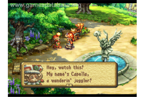 Legend of Mana - Sony Playstation - Games Database