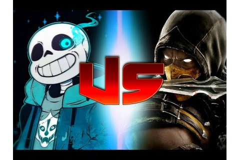 Sans Vs Scorpion (Rap Battles Of Video Games All Stars ...