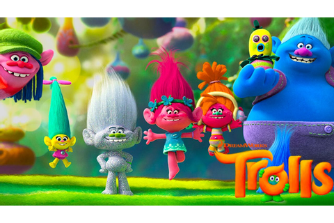 TROLLS Movie Official Kids Game - YouTube