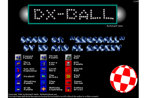 DX-Ball | Software and Games