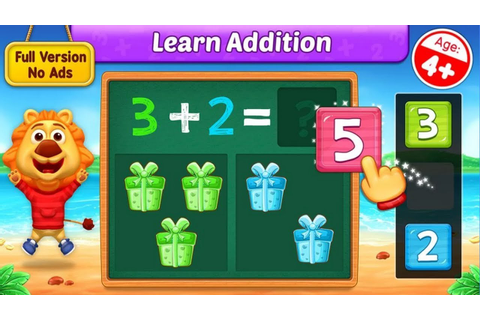 Math Kids - Add, Subtract, Count and Learn - Adding Fun ...